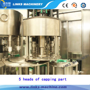 Automatisch Drinkwater 5000bph die en het Afdekken Installatie bottelen
