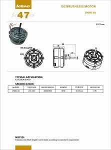UL 2000rpm del motor eléctrico DC sin escobillas de ahorro de energía para el Afilador de Cuchillos/ lavavajillas