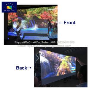 140 pulgadas de doble cara de plegado rápido pantalla proyector