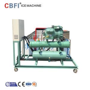 5-30 산업 소금물 구획 제빙기를 급속 냉동하는 톤