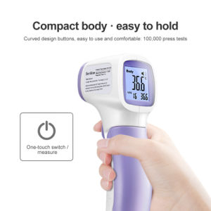 Venda por preço de fábrica para a fronte No-Contact Eletrônico Digital Termómetro de infravermelhos para adultos e crianças