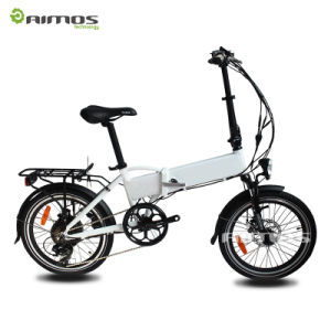 2016 La más nueva aleación de aluminio que dobla la bicicleta eléctrica