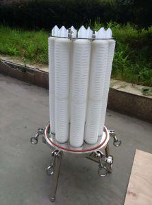 Custodia di filtro sanitaria della cartuccia dell'acciaio inossidabile di filtrazione del purificatore di alta qualità dell'acqua del RO