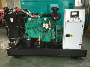 タイプCummins Engineの電気発電機セットを開きなさい