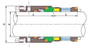 João Crane 604 a vedação dos foles metálicos--Ts MB-J04
