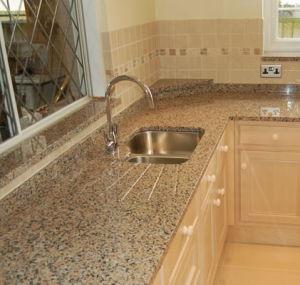 Controsoffitto Polished naturale del granito per la casa e l'hotel