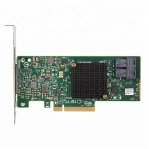LSI Megaraid SAS LSI 9341-8i/00407/ 8 ports SATA/SAS PCI-E3.0 12GB/s Carte de contrôleur