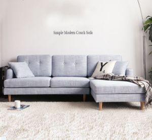canap moderne en tissu simple pour un ensemble de canap de salon - Salon Moderne Entissu