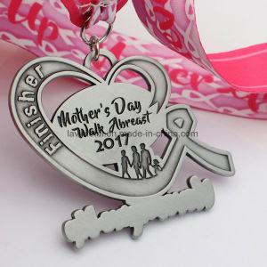 주문을 받아서 만들어진 어머니날 3km 운영하는 스포츠 메달