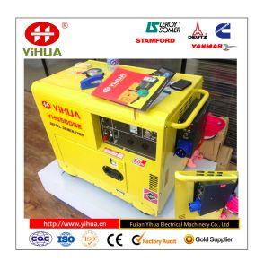 China der 186 Serien-Motor, Luft 5kw kühlte kleines Haus verwendeten beweglichen Dieselgenerator ab