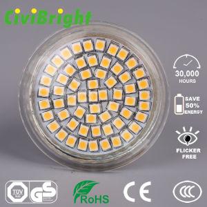 3W GU10 LED Birne Dimmable Glaslampen-Scheinwerfer des shell-LED