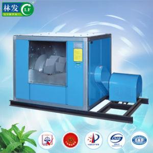 El doble en el viento de fácil mantenimiento del ventilador de extracción de humos de cocina comercial