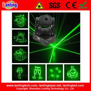 Перемещение блока цилиндров лазера DJ освещения