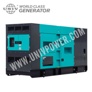 Motore della Perkins di disegno di Denyo un generatore diesel insonorizzato eccellente da 300 KVA