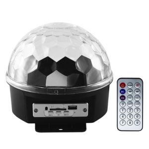 1*6W RGB IP20 Spot Bluetooth LED de la etapa de la luz de Magic Ball