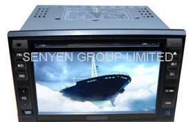6.2  2DIN giocatore dell'automobile DVD/TV/GPS/Bluetooth (SY9206)