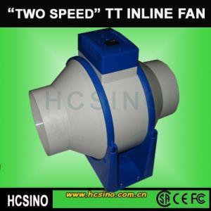Inline-Mixed Flow Extractor Fan mit Speed Control (HCTT-D)
