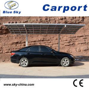 Горячая продажа алюминиевых Carport Carport Crched крыши с поликарбонатным кровельных материалов