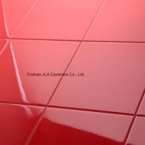 Gules 8X8inch/20X20cm de Houten Tegel van de Vloer van de Ceramiektegel Beëindigde
