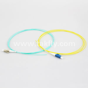LC multimodo OM3 Simplex espirales de fibra óptica