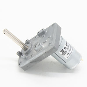12V/24V DC Micro Motorreductor para el aparato doméstico.
