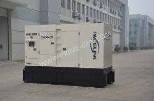180kVA Cummins Grupo Gerador Diesel silenciosa alimentada com marcação CE/ISO