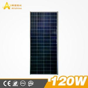 Die einteilige Helligkeit 100% des freies Beispiel120w 160lumen/Watts/integrierte LED-Solarstraßenlaterne, damit im Freienpfad-Garten-Datenbahn-Beleuchtung-Staub dämmert