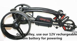 ゴルフカートのゴルフトロリー電気トロリーのための12V 25ah 300Wのリチウムゴルフ力電池