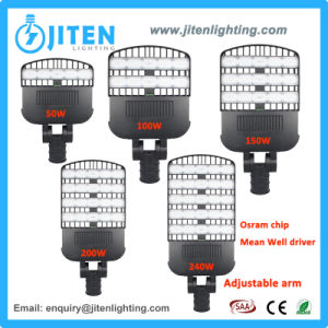 Novo lançado luz exterior 240W luz de rua LED IP67