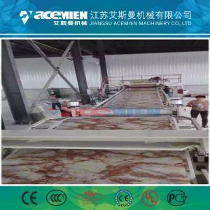 Fiche de marbre artificiel en plastique/profile/panneau de machines de l'extrudeuse/Machine/Ligne de Production