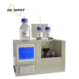 中和の滴定の主義の高品質の変圧器オイルの酸のテスター