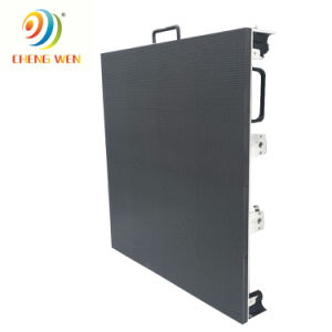 Haut Actualiser P10 écran LED de location de plein air Die Casting afficheur LED du Cabinet