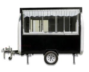 280X170cmのホットドッグのカートの移動式食糧カートのトレーラーの工場