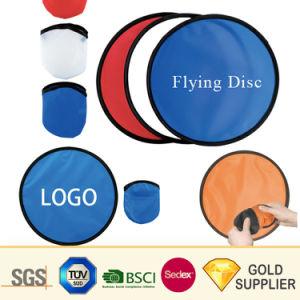 製造業者の昇進の安いカスタムロゴの非有毒な防水飛行のディスクのスポーツ用品の袋が付いているレクリエーションによって折られるゴム製ポリエステルナイロンプラスチックフリズビー