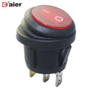 On-off LED à 3 broches Kcd1 Interrupteur à bascule étanches