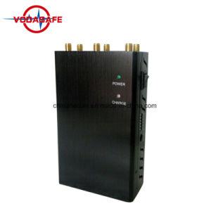 6 de Stoorzender/Blocker voor 2g Stoorzender van 6 Banden van /3G/4G Wimax (van CDMA/GSM) Draagbare de Mini Handbediende/Blocker van het Signaal van de Telefoon van de Cel van de antenne, het Systeem van de Stoorzender van het Alarm