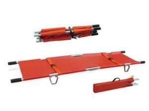 M-FS03 leve em alumínio dobrável de ambulância Fornecedor Maca Desdobrável