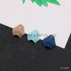 De blauwe Eigengemaakte Oorringen van de Toebehoren van de Oorringen van de Tegenhanger van het Bloemblaadje DIY Materiële Met de hand gemaakte