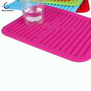 Kids Easy Clean Placemat reutilizáveis Non-Slip Placemat de silicone para crianças