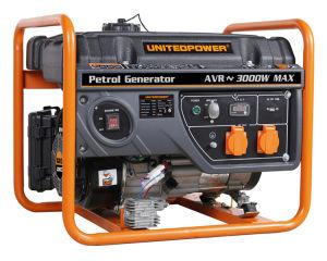 3.0-3.3kw 2 de Generator van Gasoline&Petrol van de Slag met de Plastic Tank van de Brandstof