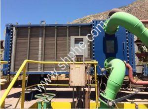 Bioenergyのための産業広いチャネルの溶接自由な流れ316Lのステンレス鋼の版の熱交換器