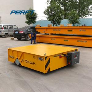 La manipulación de materiales de transferencia de potencia carro de batería