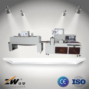 POF Termoencogible automáticos película térmica de embalaje retráctil de la máquina de paquete para la alimentación caja de papel