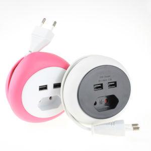 Precio competitivo Viajes Vida inteligente de energía eléctrica de Gaza USB Smart regletas