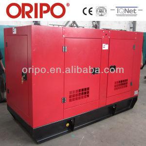 Электрический запуск дизельного двигателя с генераторной установкой радиатора