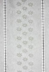 Preto ou Branco marca de papel com filamento de segurança