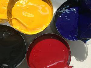 Satinado 500 rápidamente la impresión de tinta no flaco Offset