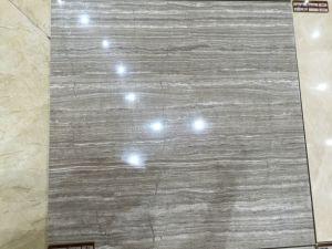 Carreaux de sol en porcelaine poli brillant entièrement vitré 600 * 600mm (GR60090)
