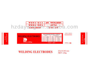 Welding Electrode를 위한 질 Approved Low Temperature Steel