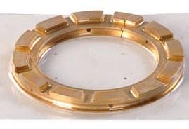 真鍮オイルのスクレーパリング